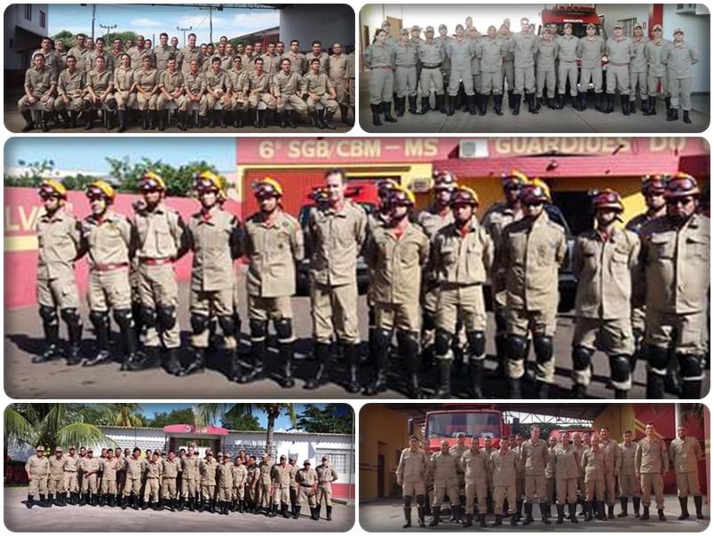 Visita Comandante Geral as unidades do CBM 2015