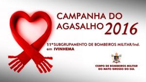 Campanha do Agasalho 2016 - 11º SGBM Ivinhema