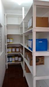 sala de arquivo 10º SGBM/IND