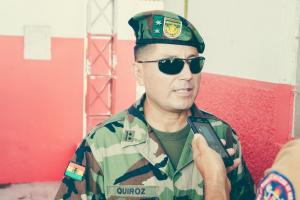 Para tenente-coronel Quiroz as Forças Armadas Bolivianas desempenham o papel principal no combate a incêndio florestal. créditos: 2°Sgt.Bm. Paiva