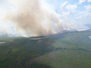 O incêndio florestal iniciado no país vizinho, e que se alastrou para o território nacional brasileiro, foi pivô desta reunião.